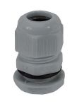 Product image for Nylon Cable Gland M25 Dark Grey 13-18mm