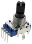 Product image for 12mm carbon potentiometer linear 10K 20%