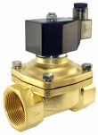 "Product image for 1 1/2"" 2/2 Solenoid Valve, N/C, 24VDC"