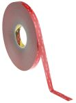 Product image for 3M GPH-110GF, VHB™ Grey Foam Tape, 19mm x 33m, 1.1mm Thick