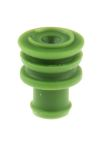 Product image for Superseal 1.5 green wire seal,1.4-1.7mm
