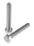 Product image for A2 s/steel hex head set screw,M6x40mm
