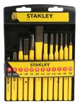 Product image for Stanley Punch & Cold Chisel 12pce Kit