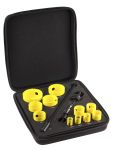 Product image for 11 PIECE INDUSTRIAL HSS HOLE SAW KIT