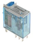 Product image for Plug in relay w/ LED, 8A, 12Vdc, DPDT