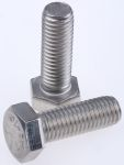 Product image for A2 S/Steel hex head set screw,M12x35mm