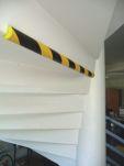Product image for Angle protection yellow/black Ø40mm