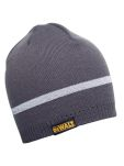 Product image for GREY KNITTED BEANIE HAT