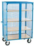 Product image for RS PRO 3 Shelf Heavy Duty Trolley, 1150 x 750mm, 3 x 30kg Load