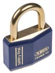 Product image for BLUE KEYED DIFFERENT LOCK OFF PADLOCK