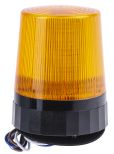 Product image for LED Beacon, Amber, Tall Prof, 110-230Vac