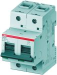 Product image for S800 MCB 100A 2 Pole Type C 36kA