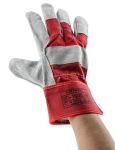 Product image for PREMIUM CHROME RIGGER GLOVE RED