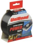 Product image for BLACK POWER DUCK TAPE,25M L X 50MM W