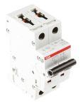 Product image for S200 MCB 1A 2 Pole Type C 10kA