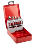 Product image for 6 pce c/sink set 3 flute