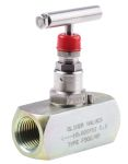 Product image for 1/2in NPT highpress isolator needlevalve