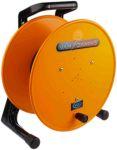 Product image for Orange plastic audio cable drum, 300mm