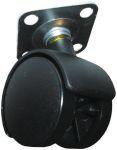 Product image for 2 wheel nylon castor,Br,40 dia,plate fix