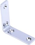 Product image for ASTM 304 s/steel angle bracket,50x15x3mm