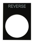 Product image for RS PRO LEGEND PLATE REVERSE PACK OF 5