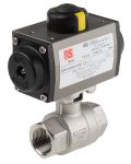 Product image for 1in. BSP S/Steel B/Valve w/ DA Actuator