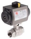 Product image for 1in. BSP S/Steel B/Valve w/ SR Actuator
