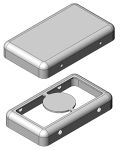 Product image for DRAWN RF PCB SHIELDING 18.3X10.5X3MM