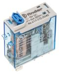 Product image for Plug in relay w/ flag, 16A, 12Vdc, SPDT
