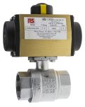 Product image for 11/2in.BSP Brass B/Valve w/ DA Actuator