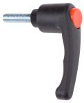 Product image for Clamp hdl,Black nylon,Stl,M8x30,65,M