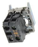 Product image for 1NO yellow LED body,24Vac/dc
