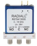 Product image for SPDT, High Frequency RF Relay 28V
