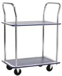 Product image for 2 shelf trolley 960x730x470mm Max 120kg