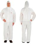 Product image for 4515 white coverall M