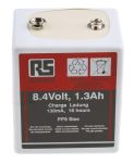 Product image for Press stud rechargeable PP9 NiCd,8.4V