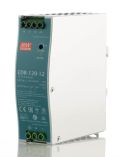 Product image for 120W DIN Rail Panel Mount PSU 12 Vdc 10A