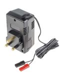 Product image for 12V LEAD ACID BATTERY CHARGER,0.3A