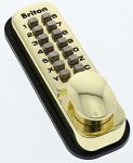 Product image for Brass Mechanical Polished Code Lock