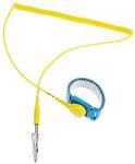Product image for 10mm stud-banana adj wrist band/cord set