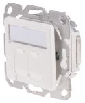 Product image for RJ45 FACEPLATE RAL9010
