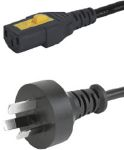 Product image for AU CORDSET 10A 2.0M, V-LOCK