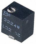 Product image for 3224W SMT topadj cermet trimmer,100R 4mm