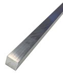 Product image for 6082-T6 Aluminum Square Bar, 40mm x 40mm x 1m