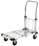 Product image for Al foldable trolley,725x420,150kg