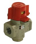 """Product image for 3 Port Lock Out Valve, 1/4"""" Port"""