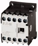 Product image for CONTACTOR, 3-POLE + 1 NO CONTACT, 4 KW /