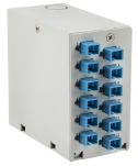 Product image for Din Rail boxloaded 12 xSC Simplex
