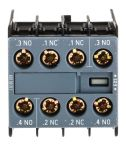 Product image for AUX. SWITCH 2NO+2NC S00 & S0 SCREW