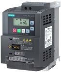 Product image for Siemens Converter, 1-Phase In, 550Hz Out 1.1 kW, 240 V, 6 A SINAMICS V20